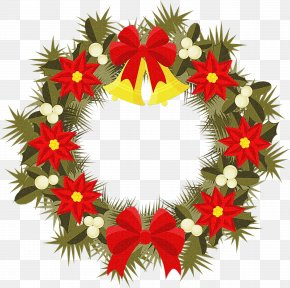 Holly Christmas Eve - Christmas Decoration Cartoon PNG