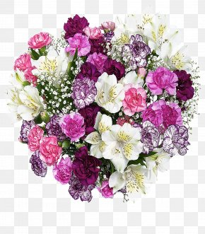 A Bouquet Of Bouquet Of Flowers - Flower Bouquet Nosegay PNG