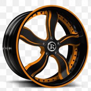 Car - ATL Custom Auto Car Alloy Wheel Rim Tire PNG