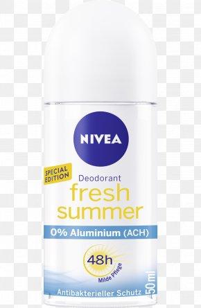 Fresh Summer Card - Lotion Deodorant Nivea Aerosol Spray Dm-drogerie Markt PNG