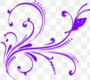 Purple Butterfly Cliparts - Free Content Website Clip Art PNG