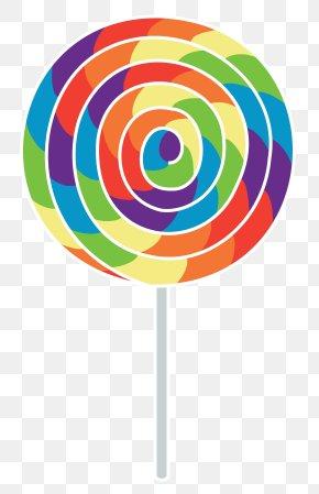 Rainbow Lollipop - Lollipop Candy Cane Gummy Bear PNG