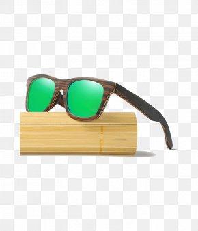 Sunglasses - Goggles Sunglasses Eyewear Wood PNG