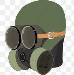 Painted Green Gas Masks Vector - Gas Mask Euclidean Vector PNG