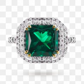 Bling - Earring Jewellery Emerald Carat PNG