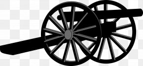 War Clipart - American Civil War United States Cannon Clip Art PNG