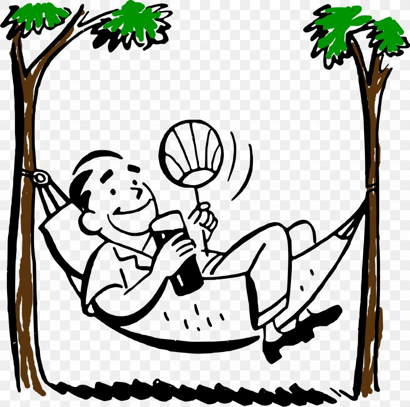 Hammock Royalty Free Clip Art Png 2400x2380px Hammock Area Art Artwork Black And White Download Free