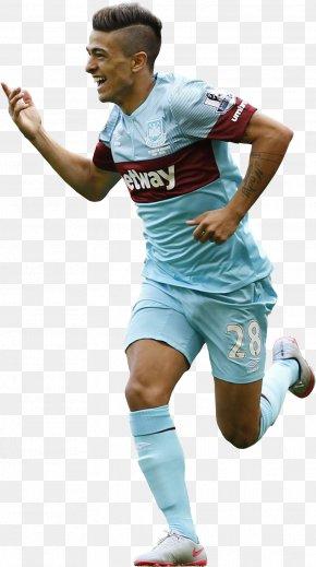 Football - Manuel Lanzini West Ham United F.C. Jersey Football Team Sport PNG