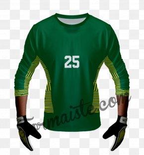 T-shirt - T-shirt Kit Jersey Goalkeeper Glove PNG
