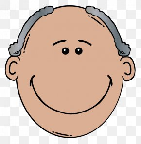 Grandfather Cliparts - Cartoon Face Man Clip Art PNG
