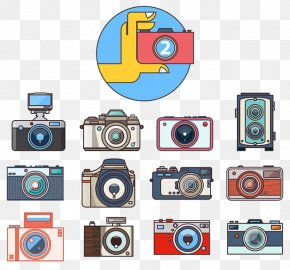 Camera - Camera Photography Adobe Illustrator Icon PNG