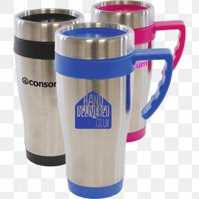 Mug - Thermoses Mug Plastic Cobalt Blue PNG