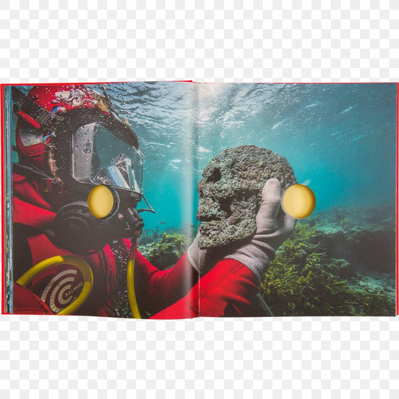 Book Organism Marine Biology Treasures From The Wreck Of The Unbelievable, PNG, 1000x1000px, Book, Biology, Damien Hirst, Hypebeast, Jacques Cousteau Download Free
