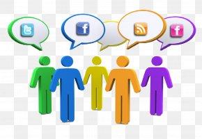 Social Media - Social Media Communication Person Social Network PNG