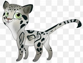 Clouded Leopard - Whiskers Ocelot Cat Clouded Leopard PNG
