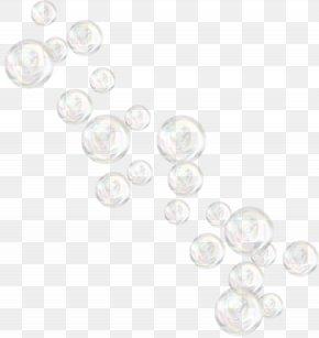 Bubbles Transparent - White Pattern PNG