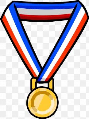 Medal - Olympic Games Gold Medal Clip Art PNG