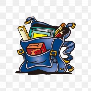 Bags Illustration - Backpack School Bag Clip Art PNG
