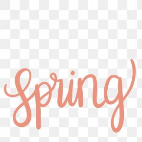 Spring Word Cliparts - Word Clip Art PNG