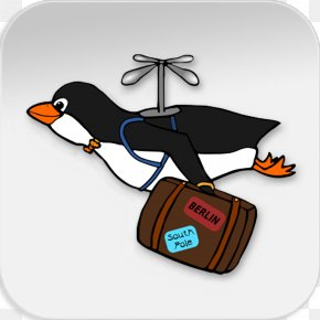 Kowalsky Penguin - Clip Art Human Migration Openclipart Animal Migration Bird Migration PNG