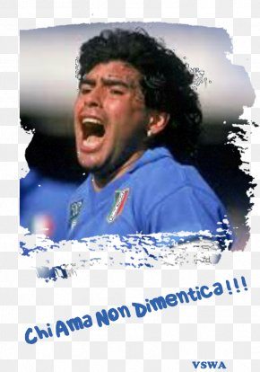 Football - Diego Maradona S.S.C. Napoli Argentina National Football Team Serie A 1986 FIFA World Cup PNG
