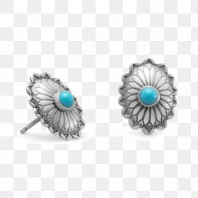 Jewellery - Turquoise Earring Jewellery Sterling Silver PNG