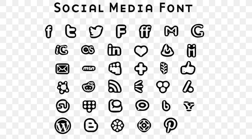 Social Media Font Awesome Download Font Png 551x454px Social Media Area Black And White Button Diagram