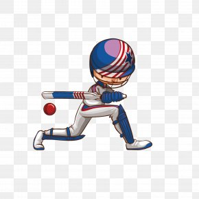 Vector Cartoon Boy Baseball Illustration - Cricket Drawing Royalty-free Illustration PNG