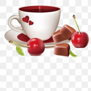 Chocolate Cherry Juice - Day Blessing Love Greeting Happiness PNG