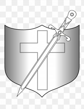 Swords - Shield Longsword Weapon Clip Art PNG