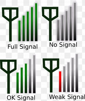 Signal - Mobile Phone Signal Signal Strength In Telecommunications Cell Site Cellular Repeater PNG