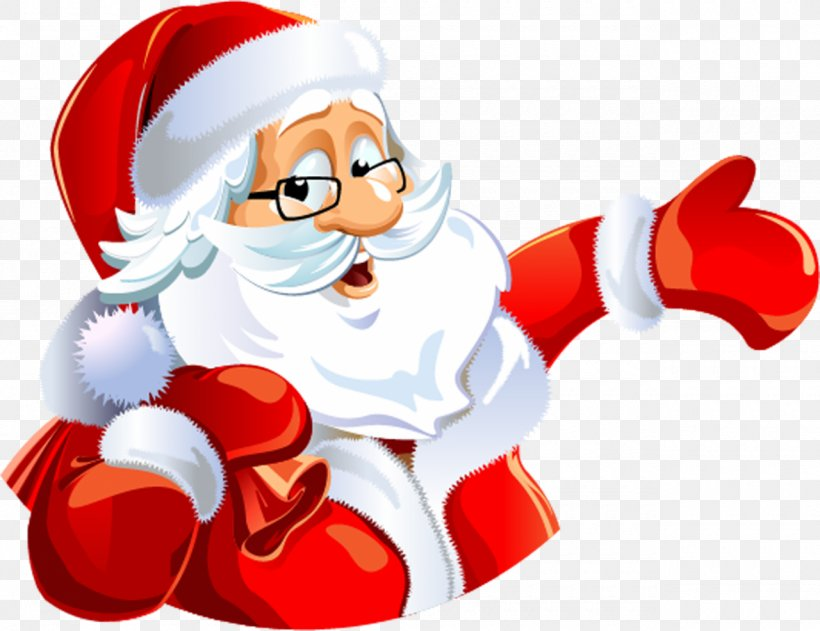 Santa Claus Christmas Ded Moroz New Year Clip Art, PNG, 1280x986px, Santa Claus, Cartoon, Christmas, Christmas Card, Christmas Ornament Download Free