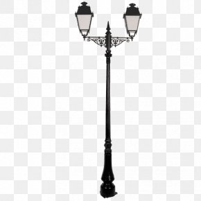 Street Light - Street Light Candelabra Sconce Black Lamp PNG