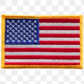 American Flag - Flag Of The United States Flag Patch Embroidered Patch PNG