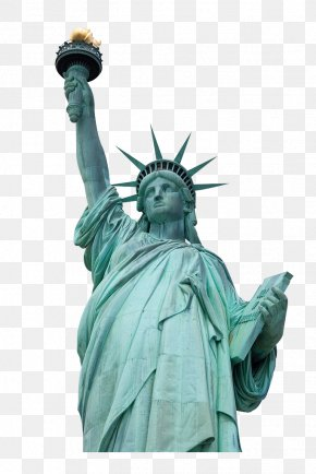 Goddess - Statue Of Liberty Statue Of Freedom Manhattan PNG