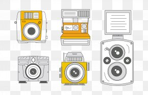 Retro Camera - Camera Adobe Illustrator Drawing Download Sketch PNG