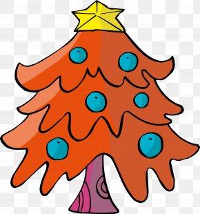 Christmas Tree - Christmas Tree Child Santa Claus Gift PNG