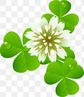 Saint Patrick's Day - Paper Clip Saint Patrick's Day Shamrock Clip Art PNG