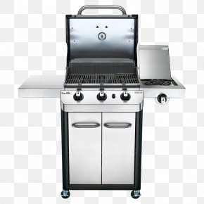 Grill Cart Model - Barbecue Char-Broil Signature 4 Burner Gas Grill Propane Grilling PNG