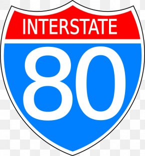 Road Sign Art - Interstate 80 U.S. Route 66 US Interstate Highway System Clip Art PNG
