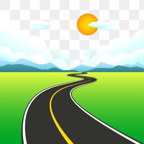A Vector Path - Road Download Icon PNG