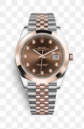 Rolex - Rolex Datejust Rolex Oyster Watch Gold PNG