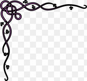 Border Black - Borders And Frames Visual Design Elements And Principles Clip Art PNG
