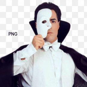 Mask - The Phantom Of The Opera Mask Costume Masquerade Ball PNG