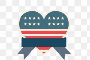 American Flag Of Love - Flag Of The United States National Flag PNG
