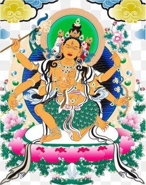 2017 Chinese Buddhism Creative Class - Tibetan Buddhism Thangka Tibetan Buddhism Illustration PNG