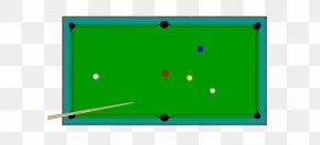Cartoon Design Material Billiard Table Free To Pull Big Picture - English Billiards Nine-ball Blackball Eight-ball Billiard Table PNG