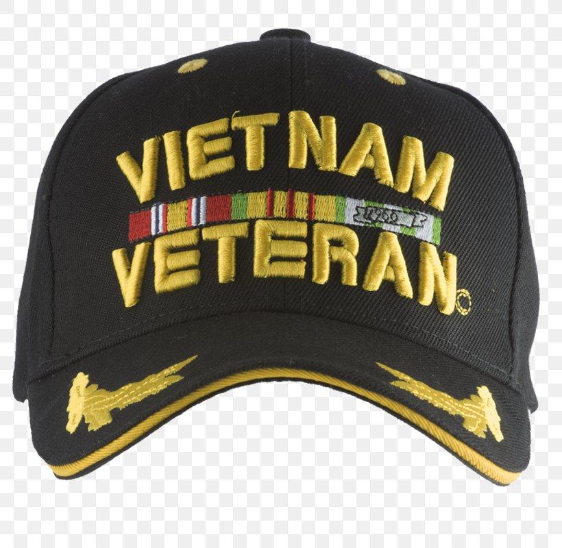Embroidered Ball Cap Vietnam Veteran