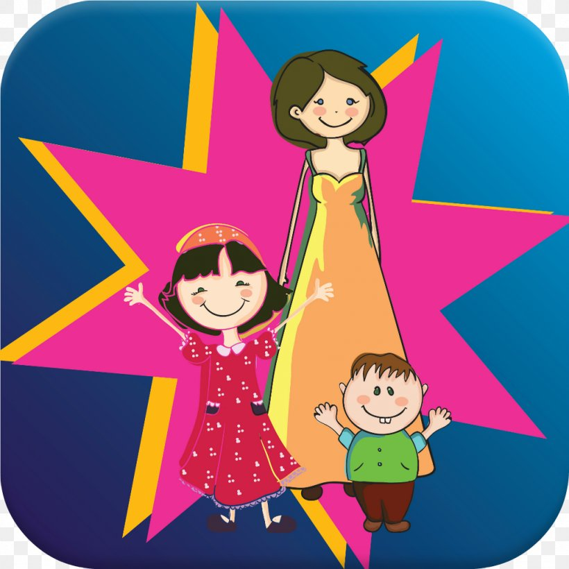 MoboMarket Mother's Day Family Android, PNG, 1024x1024px, Mobomarket, Android, Art, Cartoon, Child Download Free