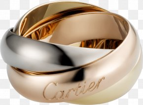 Ring - Cartier Wedding Ring Jewellery Colored Gold PNG